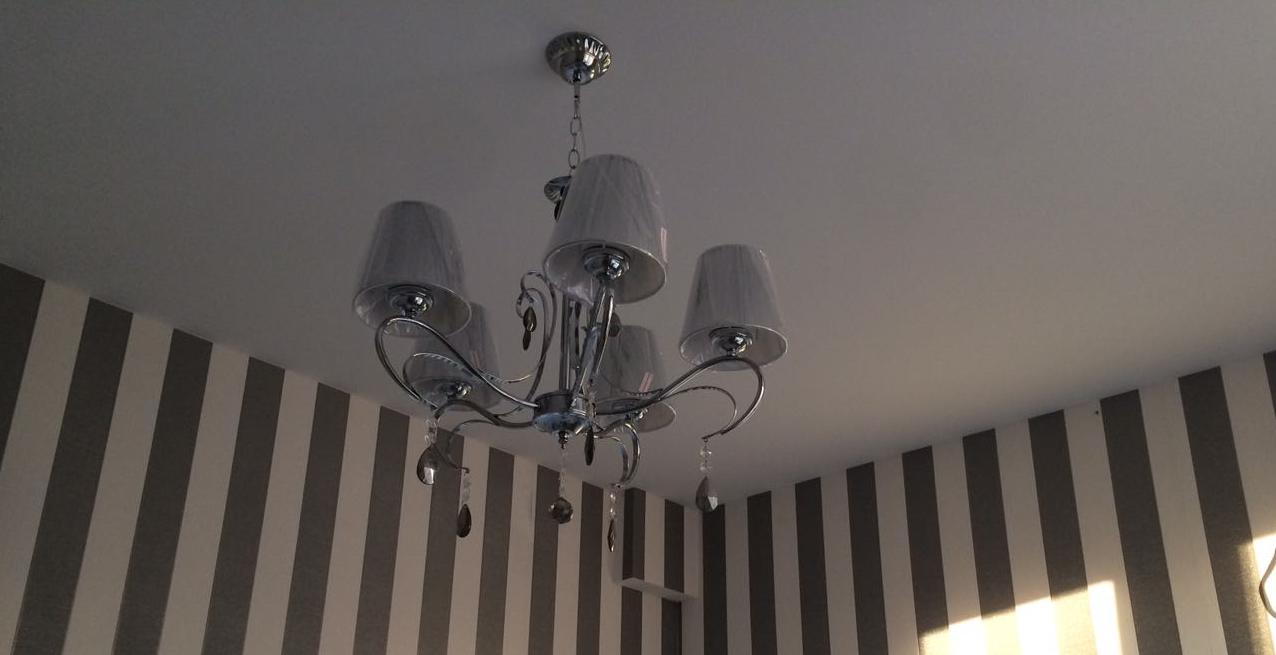 Тканевые натяжные потолки с установкой (Цена указана за 1 кв.м) Descor Ткань