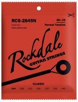 ROCKDALE RCS-2845N струны для классической гитары, нормальное натяжение, нейлон (посеребрённая оплётка)