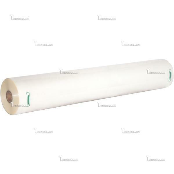 Плёнка для ламинирования в рулоне 100мкм (635мм х 100м) глянцевая, втулка 25мм