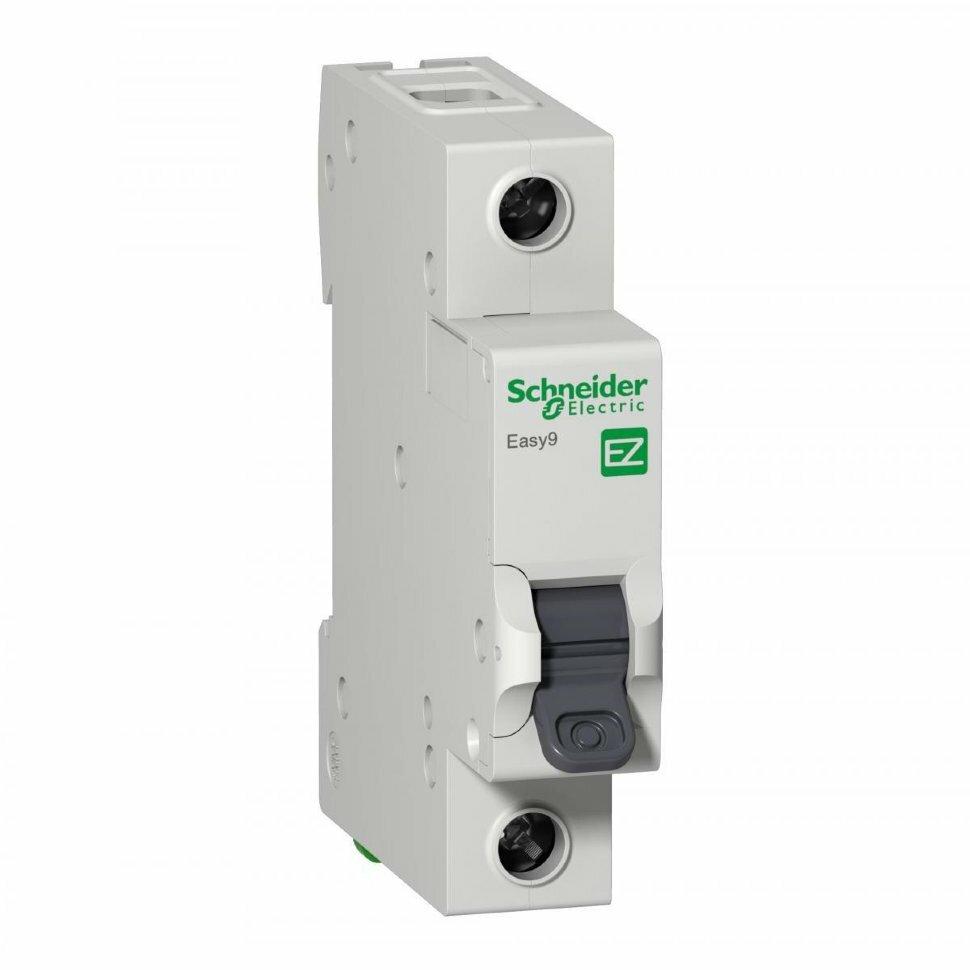 Выключатель автоматический однополюсный Schneider Electric EASY 9 1P 16А 4,5кА х-ка С 230В EZ9F34116