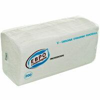 Бумажные полотенца евро стандарт. 200 шт