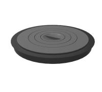 Плита чугунная для Берель 480К, с фланцем, 4 комфорки