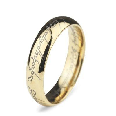Кольцо Всевластия из желтого золота