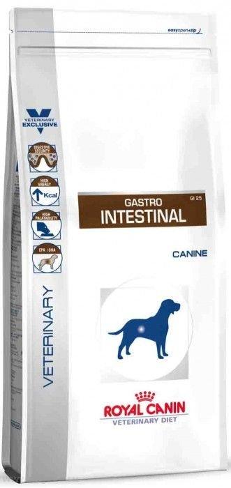 Royal Canin Gastro Intestinal GI25 корм для собак при нарушении пищеварения, 2 кг