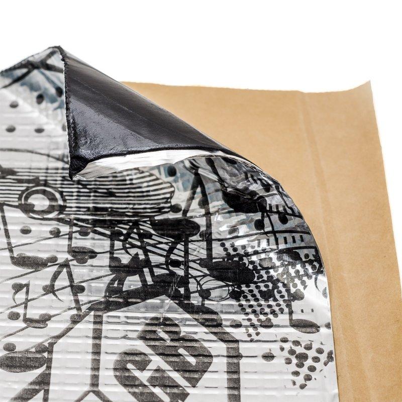 Вибропоглощающий материал STP GB 4 (0,35х0,57), упаковка 10 листов
