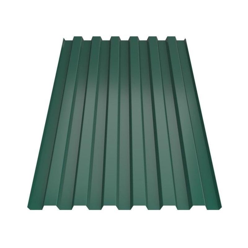 Профнастил Металл Профиль С-21 2х1,05 темно-зеленый 0,4 мм