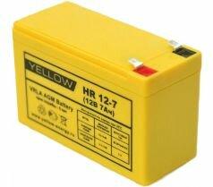 Аккумулятор Yellow HR 12-7