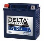 Аккумулятор мотоциклетный Delta EPS 1214 YTX14-BS, YTX14H-BS, YTX16-BS, YB16B-A 12V 14Ah AGM(залит и готов к применению)