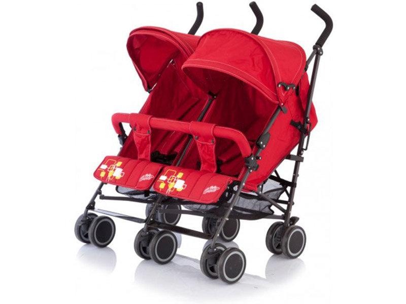 Коляска Baby Care Citi Twin Red