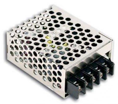 Преобразователь AC-DC сетевой Mean Well RS-15-5 источник питания 5В с универсальным входом от 85 до 264 В AC, мощность 15Вт, конструктивное исполнение