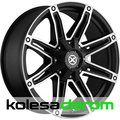 American racing AX193 9x20/5x115 D72.62 ET18 Black_machined - фото 1
