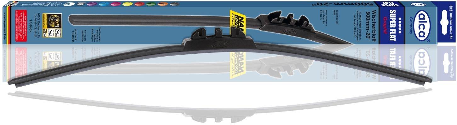 Щетка стеклоочистителя бескаркасная Alca SUPER FLAT 450мм (048000)