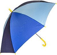 Зонт-трость Ame Yoke L 541 (синий/темно-синий/голубой)