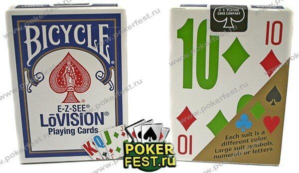 Игральные карты Bicycle LoVision