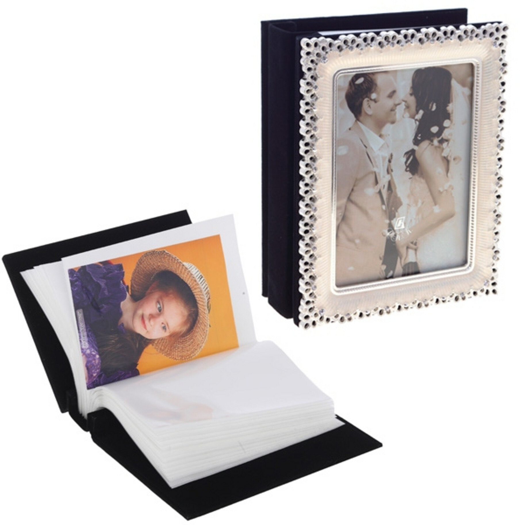 Фотоальбом с фоторамкой для фото 10х15 см