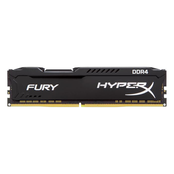 Модуль памяти DIMM 4Gb DDR4 PC17000 2133MHz Kingston HyperX Fury Black Series (HX421C14FB / 4)