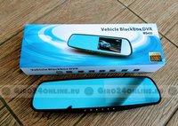 Зеркало-видеорегистратор Full HD Vehicle Blackbox DVR MS430 (2 камеры)