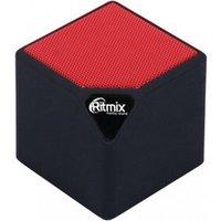 Портативная колонка Ritmix SP-140B black/red