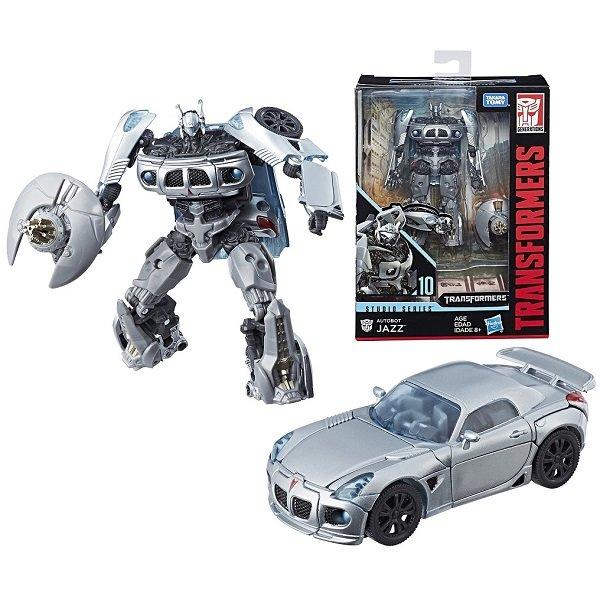 Игрушечные роботы и трансформеры Hasbro Transformers E0701/E0745 Трансформер Коллекционный Автобот Джаз 20 см