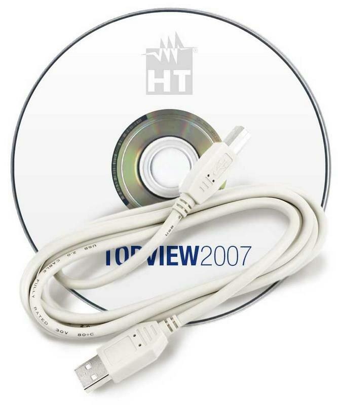 Программное обеспечение Topview2007 (USB кабель С2007+ПО)