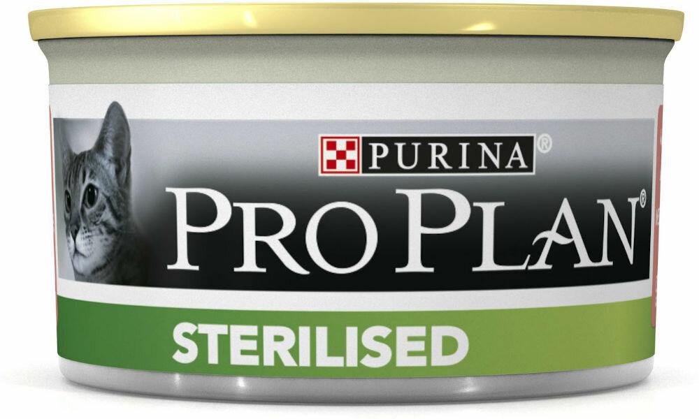 Консервы Pro Plan Sterilised для кастрированных и стерилизованных кошек (85 г, Тунец)
