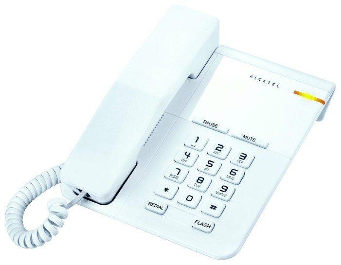 Проводной телефон Alcatel T22 white