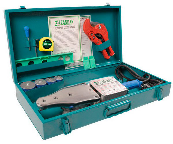 Аппарат для сварки полипропиленовых труб CANDAN CM-01 SET