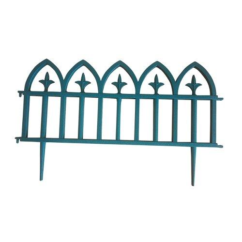 Забор декоративный Protex Кованый цветок 3х0,3 м green 1112619559202