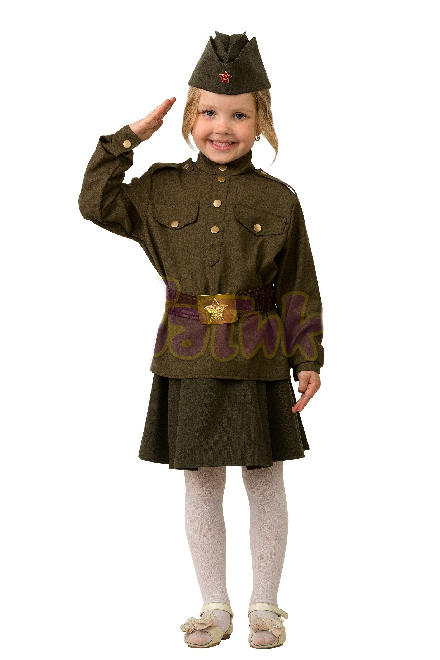 Детский костюм солдатки (34)