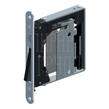 Дверные замки и защелки Защелка магнитная Bonaiti B-Noha Mini 938 (потайная) матовый хром GR992