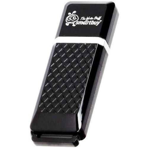 Флешка 64Гб, USB 2.0 - SmartBuy - Quartz чёрный