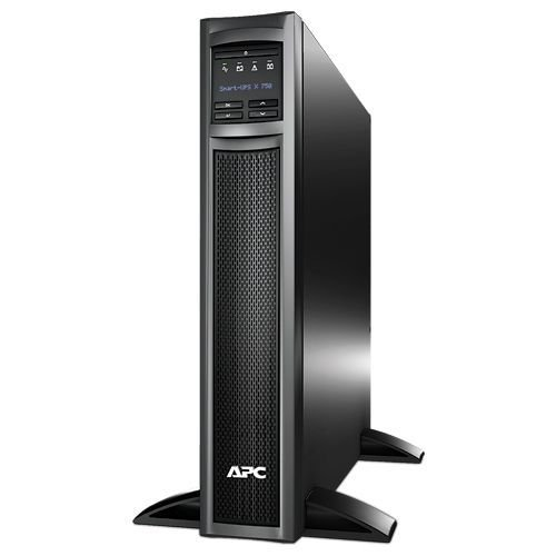 Источник бесперебойного питания APC SMX750I Smart-UPS X 750VA/600W, Tower/RM 2U, Ext. Runtime, Line-Interactive, LCD, Out: 220-240V 8xC13 (1-gr. switc