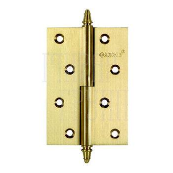 Дверные петли Петля дверная Archie A010-D L (латунь, левая) 102 мм латунь