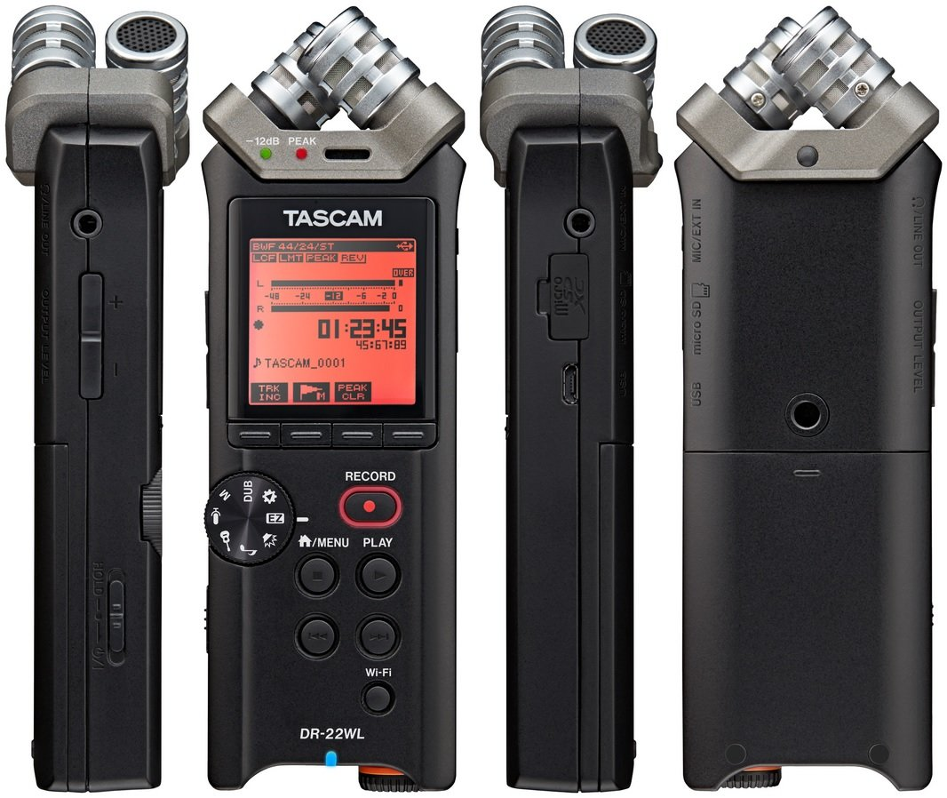 Tascam DR-22WL ручной рекордер