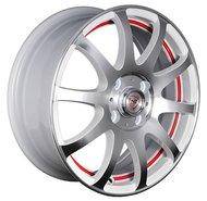 Литые диски NZ Wheels F-21 6x15/4x100 D54.1 ET48 Белый+красный - фото 1