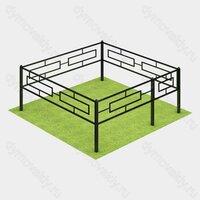 Ограда на могилу (53-420)