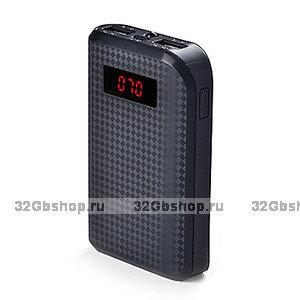 Универсальный внешний аккумулятор Remax Proda Power Box 10000 mAh черный для iphone 6 /айфон 6 plus / 5s / SE, iPhone 8 X Edition / 7 / 7s, iPad, Samsung, LG
