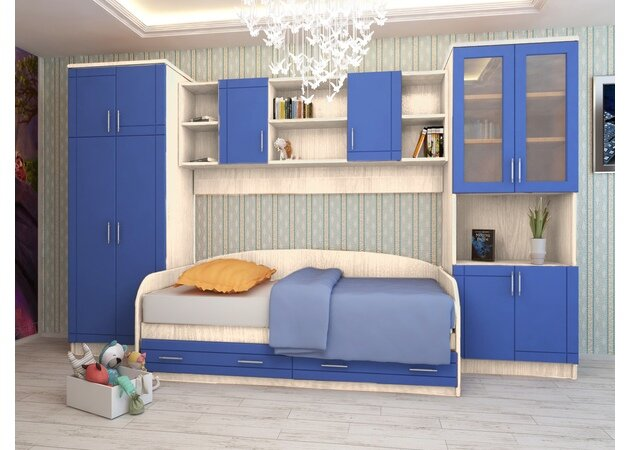 Набор мебели Егорка (белфорт, синий)