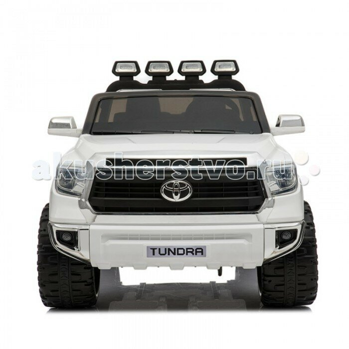 Электромобиль RiverToys Toyota Tundra JJ2255 Белый