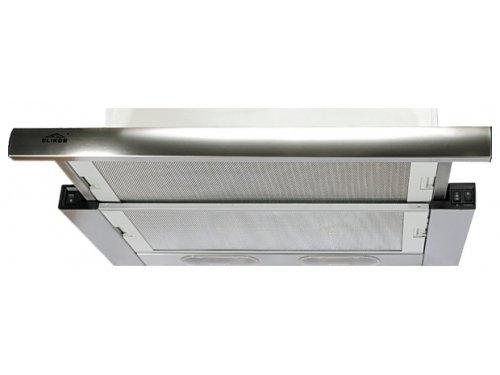 Вытяжка кухонная ELIKOR Выдвижной блок 60 двухмоторный нержавеющая сталь