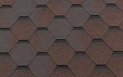 Гибкая битумная черепица RoofShield Стандарт Classic C-S-1 Медный