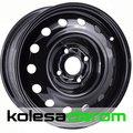 X40039 TREBL 5.5x15/4x100 D54.1 ET45 Black - фото 1