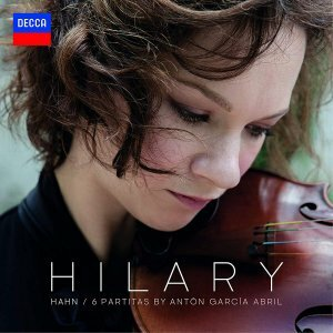 "Hahn, Hilary ""виниловая пластинка Garcнa Abril: 6 Partitas (1 LP)"""