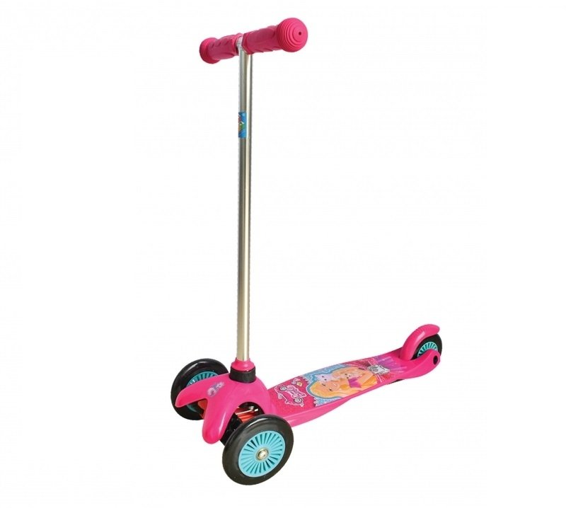 Кикборд 1 TOY 1Toy Т57618 Barbie, розовый