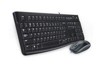 Клавиатура и мышь Logitech Desktop MK120 920-002561 black, USB, RTL