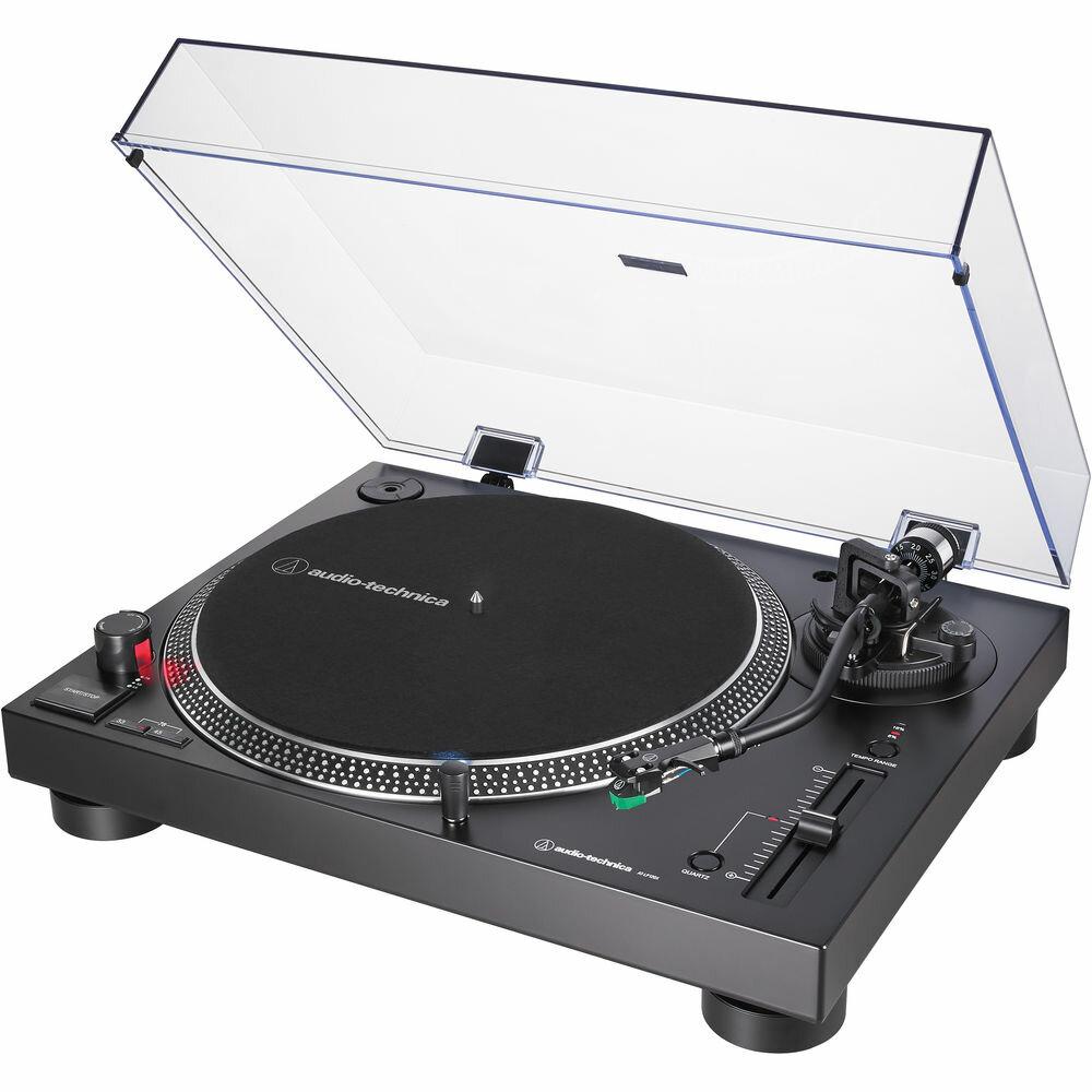 Проигрыватели винила Audio Technica AT-LP120XUSB black