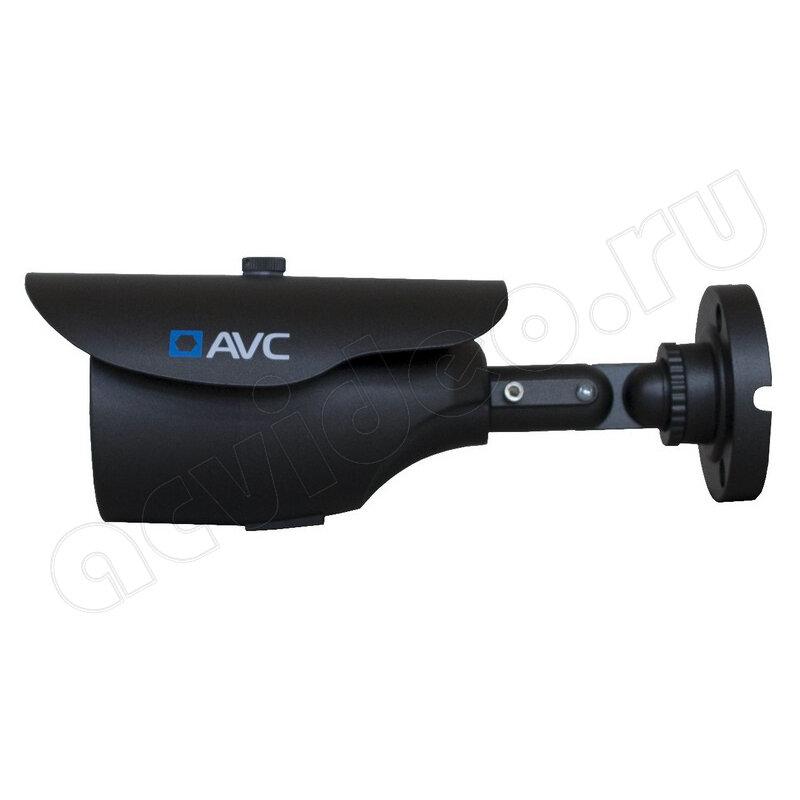 Уличная цилиндрическая AHD 2.0 Mpx Full HD 1080p камера видеонаблюдения AVC-9600 3.6 мм, черная