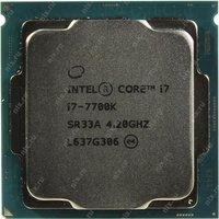 Процессор INTEL Core i7 7-го поколения Core i7-7700K Processor