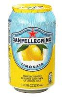 "Напиток ""Sanpellegrino Limonata"" 0.33л, газ, ж/б (6шт.)"