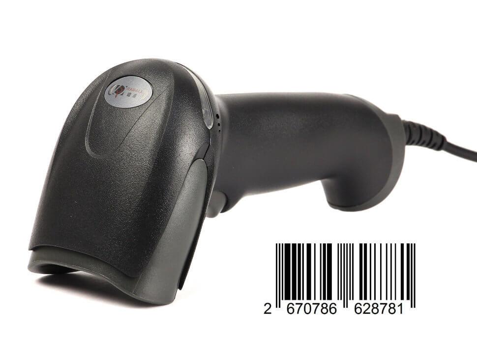 Сканер штрих-кода лазерный ручной